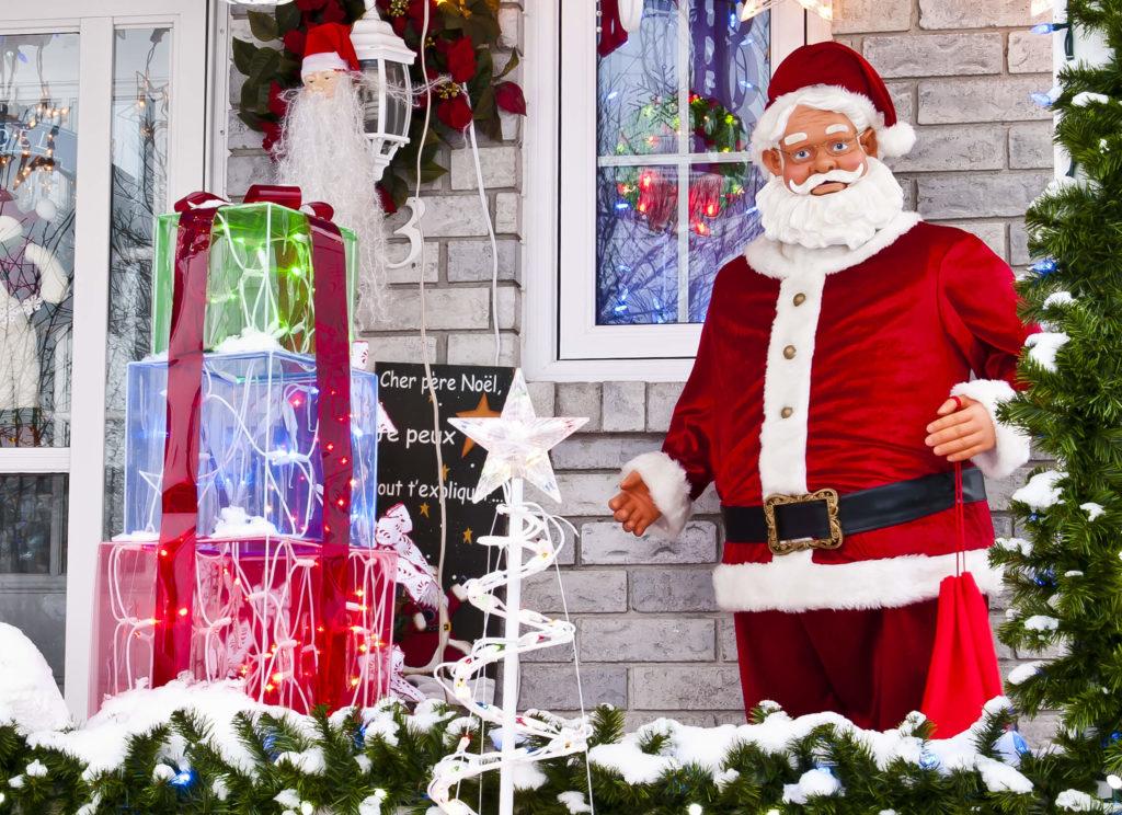 Weihnachtsdeko Nikolaus